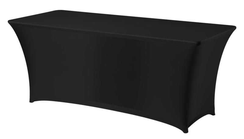 Klaptafel 1,80 x 0,75 m incl kleed stretch